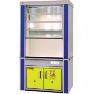 Шкаф вытяжной для работы с ЛВЖ ЛАБ-PRO-ШВЛВЖ-150-D